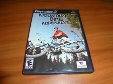 Mountain Bike Adrenaline (Sony PlayStation 2, 2007) Used Complete PS2