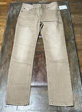 New Boy's Gap Denim Khaki Jeans Size 10 Regular Stretch Slim