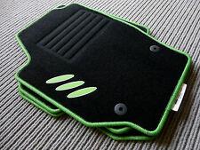 $$$ Original Lengenfelder Fußmatten für Skoda Fabia II RS + CARBON Ellipsen +NEU