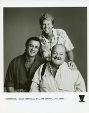 WILLIAM CONRAD JOE PENNY ALAN CAMPBELL SMILING JAKE AND THE FATMAN CBS TV PHOTO