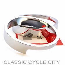 HONDA CL 350 450 interferenzaNverso anelli cromo lampade supporto Chrome anello HEADLIGHT BRACKET