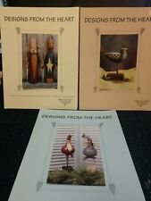 New ListingTole Painting Designs From the Heart Decorative Instructions (Oop)