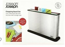 Joseph Joseph Chopping Board set With Stainless Steel Case