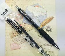5pens + 3 refills uni-ball signo 207MICRO ball pen & UMR-85 refill BLACK ink