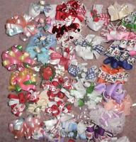 Handmade Large Fancy Hair Bow Barrette Clip Holidays Beautiful YOUR CHOICE!! NEW