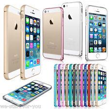 * slim metal bumper iPhone vidrio tanques protección diapositiva, funda protectora, funda, estuche, bolsa *