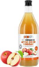 Vinaigre de Cidre de Pommes Brut avec La Mère 100% Bio Non Pasteurisé