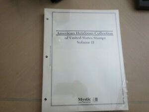 MYSTIC AMERICAN HEIRLOOM COLLECTION  OF US STAMPS PAGES SEALED Vol 2