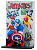 Avengers Captain America 3D Comic Standee Loot Crate Exclusive Marvel New In Box