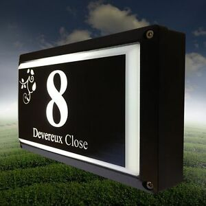 BRITESIGN III | LED designer   house sign light box