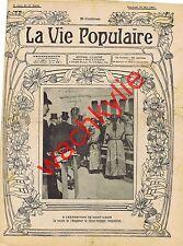 la vie populaire 64 - 27/05/1904 Exposition Saint-Louis Cirques nomades dressage