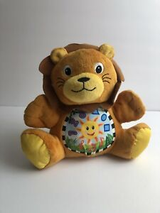 """Baby Einstein Press and Play Musical Instrument Lion 7"""" Plush Developmental Toy"""