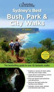 Sydney's Best Bush Park & City Walks By Veechi Stuart 3rd edition FREE SHIPPING