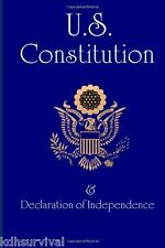 US Constitution : And Declaration of Independence by Founding Fathers (2013,...