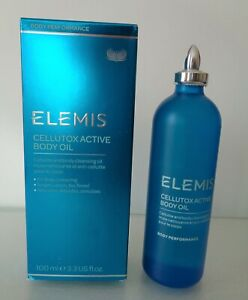 ELEMIS Cellutox Active Body Oil, 3.3oz/100ml, made in England. New.