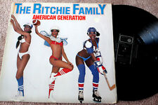 """THE RITCHIE FAMILY """"American Generation"""" Org. 1978, Disco, vg/vg"""