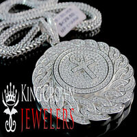 """24/""""925 STERLING SILVER MIAMI CUBAN LINK CHAIN NECKLACE 2.5MM 12g E884"""