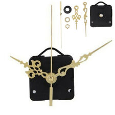 DIY Gold Black Silent Clock Quartz Movement Mechanism Hands Replacement Part Set