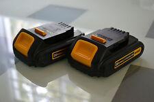 2 New 20v Dewalt DCB201 Lithium ion battery for 20 volt drill saw DCB101 DCB106
