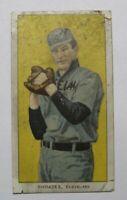 1909 T206 Bob Rhoades Cleveland Piedmont 350 Baseball Card! Hand At Chest Card
