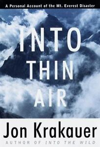 Modern Library Exploration Ser.: Into Thin Air : A Personal Account of the...