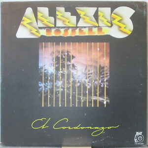 ALEXIS ROSSELL Y SU VENEZUELA JOVEN El Cordonazo LP Venezuela Folk Rock/Ethnic