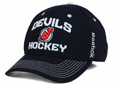 NEW JERSEY DEVILS  -REEBOK M439Z NHL LOCKER ROOM MEN'S HOCKEY CAP/HAT -  L/XL