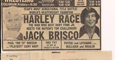 HARLEY RACE   13 VOLUME  COMPLIATION - PRO WRESTLING