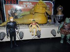 $ VTG~1977~1983~Kenner~Star~Wars~JABBA~THE~HUTT~DUNGEON~playset~luke~jedi~knight