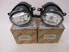TOYOTA FOG LAMPS 81210-48050 & 81220-48050 (SET OR 2 L+R) NEW Original LX570
