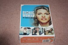 The Bionic Woman: The Complete Series (DVD, 2015, 14-Disc Set) *Brand New*