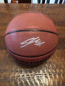 Lauri Markkanen Signed Basketball Proof Coa Chicago Bulls