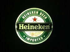 Heineken Florescent Wall Bar Sign