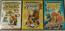 """Lot of 3 """"The Biggest Loser The Workout"""" Dvds: The Workout 1 & 2 and 30 Day Jump"""