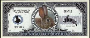 YEAR OF THE 🐇 RABBIT 🐰💶 Million Fantasy Note 💴🐰🐇 Buy More 💲 Save More