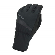 SEALSKINZ Unisex Waterproof All Weather Cycle Glove, Black, Large