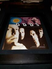 Odds Truth Untold Rare Original Radio Promo Poster Ad Framed!