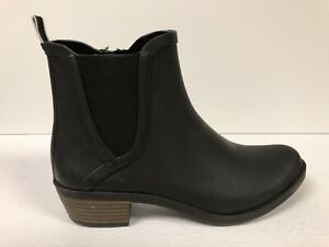 Lucky Brand Women's Basel, H20 Ankle Booties-Black Rubber, Size 8M.