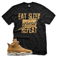 BLACK Wheat GRIND T Shirt for Jordan Golden Harvest 6 OG Wheat Gold 1 13
