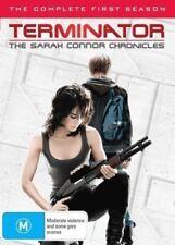 TERMINATOR (THE SARAH CONNOR CHRONICLES SEASON 1 - DVD SET SEALED + FREE POST)