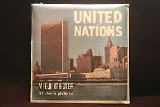 """United Nations, New York City Viewmaster 1960's  """"Japanese Bell"""" FACTORY SEALED"""