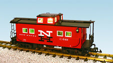 USA Trains 12165 G Scale Center Cupola Caboose New Haven