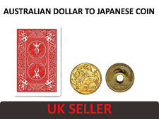 JAPAN CHANGE MAGIC COIN TRICK [AUSTRALIAN DOLLAR TRANSFORMS To JAPANESE COIN]