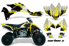 Suzuki LTR450 AMR Racing Graphics Sticker Kits ATV LTR 450 DECALS 06-09 CARBON Y
