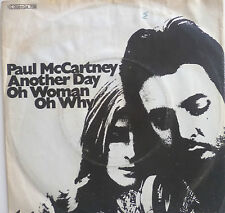 "7"" 1971 ! PAUL MCCARTNEY : Another Day // VG+ (?) \"
