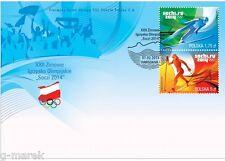 FDC -  XXII Olympic Winter Games Sochi 2014