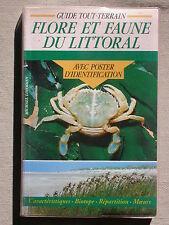 Flore et faune du littoral guide tout terrain avec poster Lohmann éd Chantecler