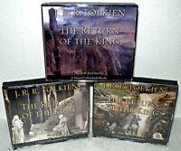 The Return Of The King-  3 Volume Set - Audio CD Book-  J.R.R. Tolkien, Harper