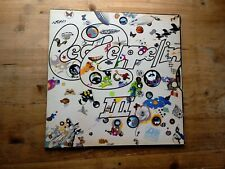 Led Zeppelin III 3 Vinyl Record 2401 002 1st Press Plum/Red Peter Grant Rotating