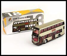 TINY HONG KONG CITY 18 KMB Bus Enviro 400 DIECAST CAR NEW